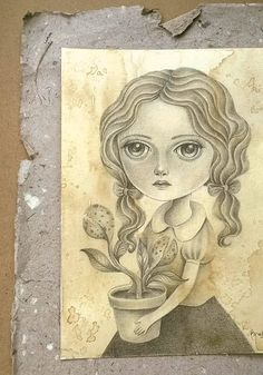Blooms by Amalia K Original Graphite and Pencil by TheWishForest