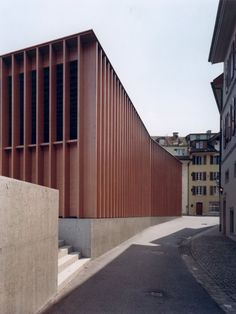 Market Hall in Aarau, Switzerland by Miller & Maranta