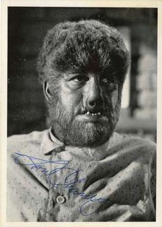 The Wolfman 1941 make-up by Jack Pierce Cool Monsters, Famous Monsters, Classic Monsters, Monster Hands, Wolfsbane, Cult Movies, Frankenstein, Werewolf, Pin Up