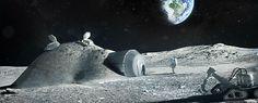 """""""Vilarejo Lunar"""" pode servir de parada estratégica para missão tripulada a Marte"""