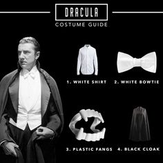 Your guide to being Dracula this Halloween. Universal Monsters, October 2017
