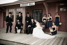 A vintage #wedding at the #Markham Museum in Ontario, Canada.