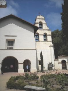 Mission San Juan Bautista - California   Click photo for article