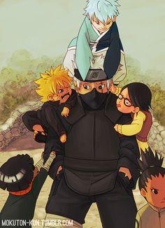 All Things Kakashi Naruto Shippuden, Iruka Naruto, Kid Kakashi, Neji And Tenten, Naruto Gaiden, Boruto And Sarada, Kakashi Sensei, Anime Naruto, Sasunaru