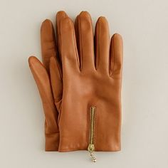 Cute leather gloves make for happy, HAPPY hands.