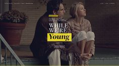 While We're Young on Behance