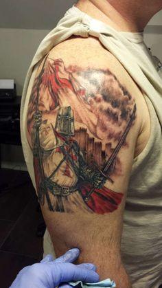 Crusader Night(2) tattoo
