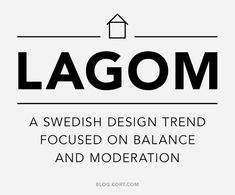 "Swedish ""Lagom"" a Hot Trend in Minimalist Design 