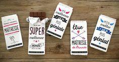 Bientôt la fin de l'année scolaire ! Vous cherchez un petit cadeau minute et gourmand à offrir au maître, à la maîtresse ou à l'ATSEM de votre enfant ? Imprimez nos étuis chocolats spécialement conçus pour l'occasion, c'est cadeau !