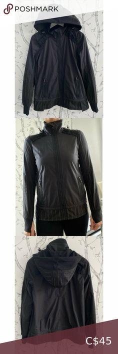 I just added this listing on Poshmark: LULULEMON Reflective Running Jacket - SIZE 6. #shopmycloset #poshmark #fashion #shopping #style #forsale #lululemon athletica #Jackets & Blazers Low Waist Jeans, Lululemon Jacket, Wrap Coat, Hooded Parka, Black Vest, Running Jacket, Cotton Fleece, Knit Jacket