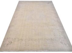 9x13.1 Ft 276x400 cm Beige Cream & Taupe Color by WeMakeRugs