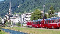 Bernina Express (Switzerland - Italy): Como - Tirano (2.5hrs) then Bermina train to St Moritz... cross mountains, alpine lakes, glaciers, visit Swiss city St Moritz. ?