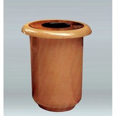 Allied Molded Products Galleria 35-Gal Industrial Trash Bin Color: Evening Shadows