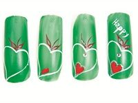 Happy Heart Tutorial - Nail Art - Style - NAILS Magazine
