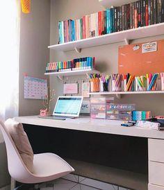 Room Design Bedroom, Room Ideas Bedroom, Home Room Design, Bedroom Decor, Study Room Decor, Cute Room Decor, Aesthetic Room Decor, Girl Room, Room Inspiration