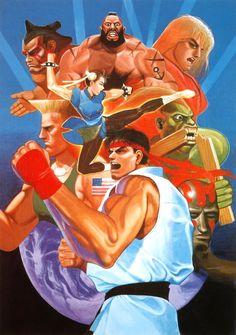 Street Fighter II: The World Warrior (Capcom, CP System I)  - Lançado nos Arcades em 1991, é o segundo jogo da franquia Street Fighter, ...