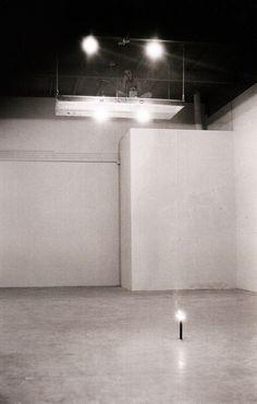"""Chris Burden. """"Shout Piece"""", 1971"""