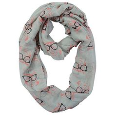 Yummy Shelf Eyeglasses Infinity Scarf in Gray Teal or Orange *** Check this awesome product by going to the link at the image.