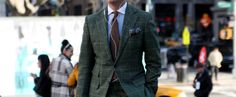 Formal friday – het groene pak