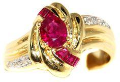 18K Yellow Gold Center Oval Ruby and Diamond Ring [R0070]... https://www.amazon.com/dp/B00BRJ2NOE/ref=cm_sw_r_pi_dp_n4lExbF14ADSH