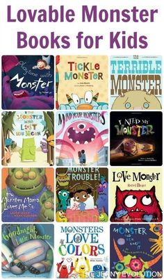 Monster Books for Kids Lovable Monster Picture Books for Kids Preschool Books, Book Activities, Sequencing Activities, Preschool Prep, Preschool Projects, Math Books, Monster Theme Classroom, Classroom Ideas, Monster Pictures