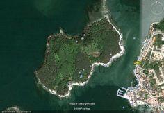 Isla Cortegada, parque Nacional Islas Atlanticas. Galicia, España.