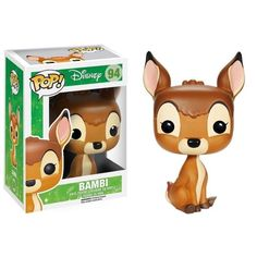Vinyl Figure at Mighty Ape NZ. The title character and fawn from Disney's Bambi is now a vinyl figure! The Bambi Pop! Vinyl Figure measures about 3 tall. Bambi Disney, Disney Pop, Disney Stuff, Disney Pixar, Hot Topic Disney, Kawaii Disney, Figurine Pop Disney, Pop Figurine, Figurines Funko Pop