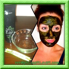www://charleyrollins.myitworks.com  All natural face mask! Add one packet of it works GREENS to a teaspoon of defining gel. Banish acne while toning and tightening your skin!