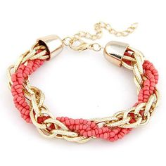 Product Deatils: Setting Type: Bezel Setting Chain Type: Beaded Bracelet Length: 20cm Clasp Type: Lobster Metals Type: Zinc Alloy Weight: 23g