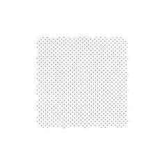 Coton Pois ginkgo blanc