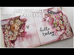 Art Collage Process using Magazine Cut Outs ♡ Maremi's Small Art ♡ - YouTube