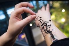 Futuristic Gadget - iSkin: Flexible, Stretchable and Visually Customizable On-Body Touch Sensors for Mobile Computing. Future Technology, Wearable Electronics