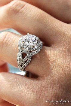 chic bangs engagement ring 2