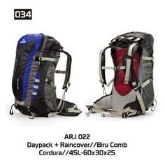 Tas Gunung Hiking Carrier Pria [ARJ 022] (Brand Trekking) Original Bandung