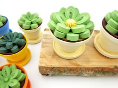 Items similar to Succulent Plant Sculpture / Quilled Paper Flower Art / Flower Centerpiece / Floral Decor / Simply Quilled on Etsy Quilling Dolls, Quilling Work, Quilling Jewelry, Quilling Flowers, Paper Quilling Designs, Quilling Paper Craft, Quilling Cards, Paper Flower Art, Paper Flowers