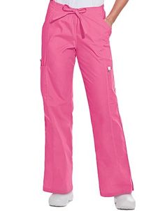 Style Code: (LA-8385P)  This scrub pant is a combination of elastic back with drawstring front waist. It features contoured through hips, deep side waist and cargo pockets and center seams and side vents. It is made up of 65% polyester/35% cotton.