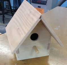 Year 10 Product Design students design and make birdhouses!