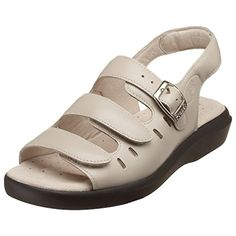 e249d62ba193 Propet Women s Breeze Walker Sandal Leather upper with leather-wrapped  insole. Built-in arch support. Propét Mile Guarantee on unitsole wear.