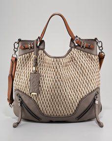 097a0a7209 Oryany Regina Raffia Shoulder Bag