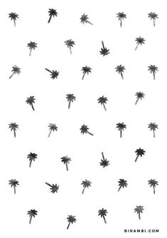free printable // DIY // watercolor palm tree pattern // summer pattern // free download on A5 size