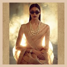 indian designer wear Sabyasachi just launched the jewellery line from House of Sabyasachi and we cannot help feel that the Autumn Winter 2017 collection from him is EPIC. Sabyasachi Sarees, Anarkali, Bollywood Saree, Bollywood Fashion, Indian Wedding Outfits, Indian Outfits, Indian Clothes, Indian Attire, Indian Wear