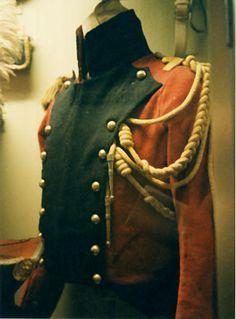 Giacca dei lancieri Rossi della guardia imperiale