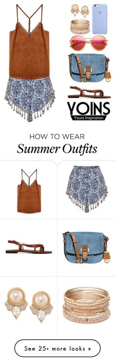 """Collection Of Summer Styles    """"Yoins100: Summer Outfit 2"""" by bugatti-veyron on Polyvore featuring MICHAEL Michael Kors, Wildfox, Red Camel, Carolee, yoins and yoinscollection    - #Outfits  https://fashioninspire.net/fashion/outfits/summer-outfits-yoins100-summer-outfit-2-by-bugatti-veyron-on-polyvore-featuring-michael-mich/"""