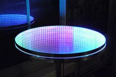 Infinity mirror and table (With casual tools)