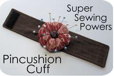 Pincushion cuff