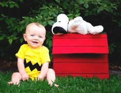 Charlie Brown Costume - Halloween Costume Contest via @costumeworks....by far the most adorable costume of all :)