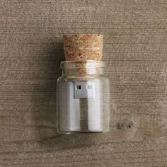 -Message in a Bottle USB Drive- #USB #Memory #MessageinaBottle #ThePolice #WorkDesk #Design  http://fancy.to/9tqd44