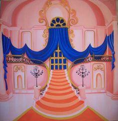 castillos de princesas de disney para escenografia - Buscar con Google