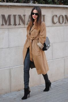 Great camel coat.