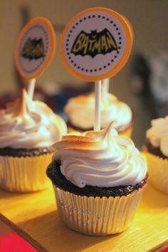 FREE Printables! Superhero Cupcake Toppers (Superman, Spiderman & Batman) | Jolly Mom: Recipes | Crafts | Atlanta Mom Blogger | Brand Ambassador | Product Reviews